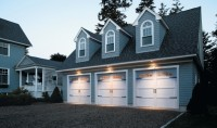 3 car garage doors